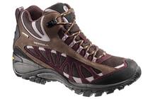 Merrell Siren Vent Mid GTX XCR Women coffee bean/huckleberry